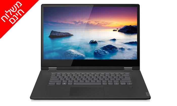 3 מחשב נייד לנובו Lenovo עם מסך מגע מתהפך 14 אינץ' - משלוח חינם