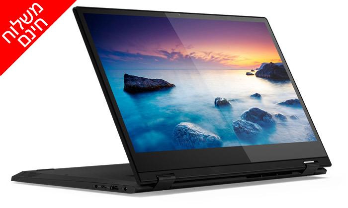 5 מחשב נייד לנובו Lenovo עם מסך מגע מתהפך 14 אינץ' - משלוח חינם