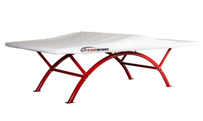 3 שולחן פינג פונג מקצועי TOP SPEED דגם rainbow