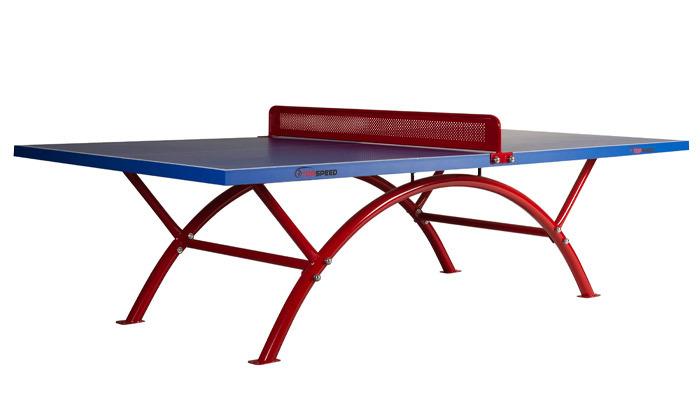 4 שולחן פינג פונג מקצועי TOP SPEED דגם rainbow