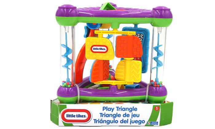 3 קופסת פעילות לתינוקות ליטל טייקס Little tikes
