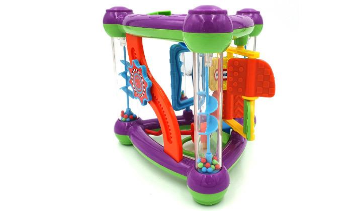4 קופסת פעילות לתינוקות ליטל טייקס Little tikes