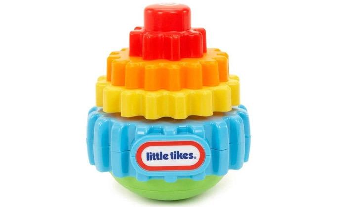 2 מגדל הרכבה מסתובב לתינוק ליטל טייקס Little tikes