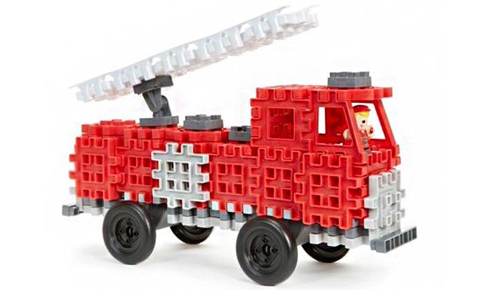 2 משחק הרכבה מכבי אש ליטל טייקס Little tikes