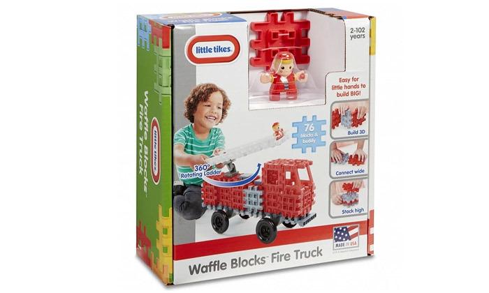 3 משחק הרכבה מכבי אש ליטל טייקס Little tikes