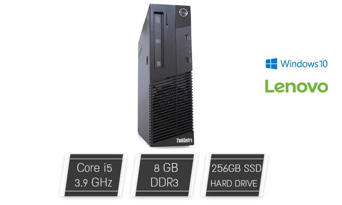 מחשב נייח לנובו Lenovo עם מעבד i5 - משלוח חינם