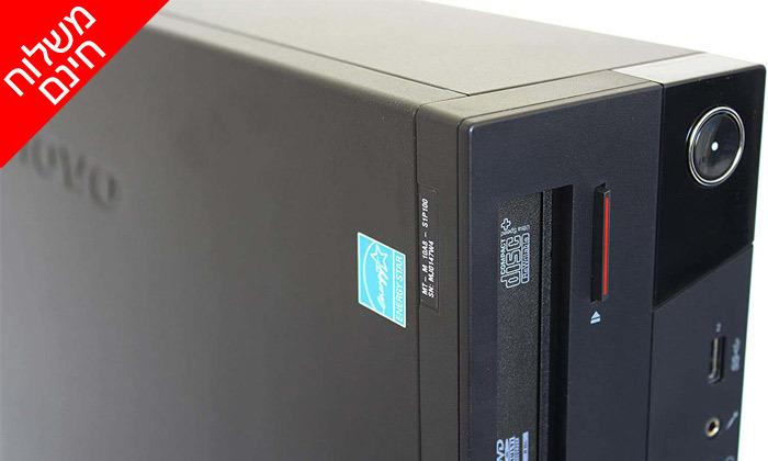 3 מחשב נייח מחודש לנובו Lenovo דגם M93P עם זיכרון 4GB ומעבד i5 - משלוח חינם