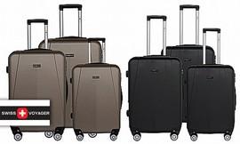 3 מזוודות קשיחות SWISS