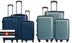 3 מזוודות קשיחות SWISS TUSTIN