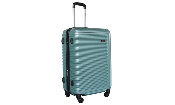 9 שלישיית מזוודות קשיחות SWISS TUSTIN