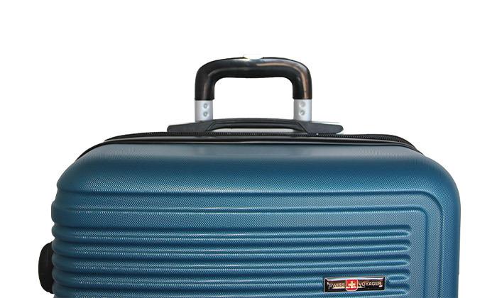 11 שלישיית מזוודות קשיחות SWISS TUSTIN