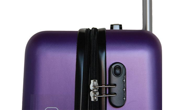 12 שלישיית מזוודות קשיחות SWISS TUSTIN