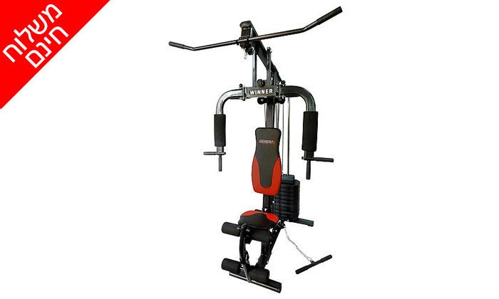 3 מולטי טריינר GENERAL fitness, דגם WINNER - משלוח חינם