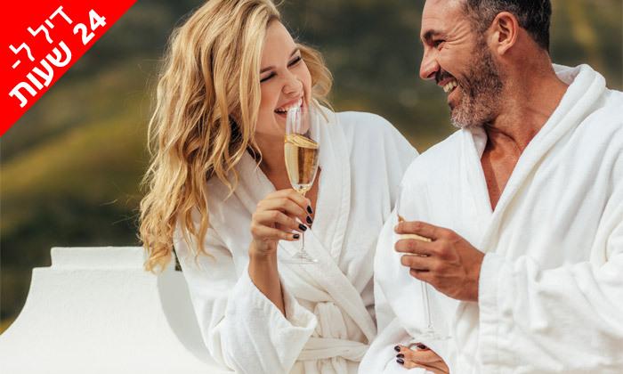 2 ל-24 שעות: יום פינוק זוגי ב-Share spa עם עיסוי ומתקני ספא, מלון דן כרמל חיפה
