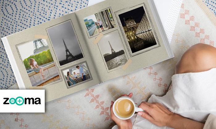 2 אלבום תמונות ענק בכריכה קשה ללא הגבלת עמודים באתר ZOOMA