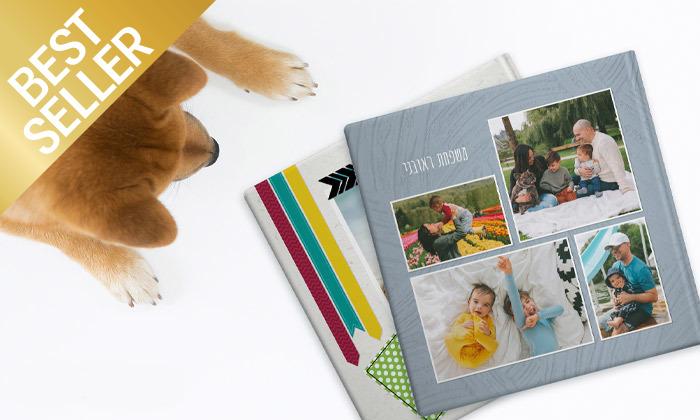 5 אלבום תמונות ענק בכריכה קשה ללא הגבלת עמודים בעסקה באתר ZOOMA