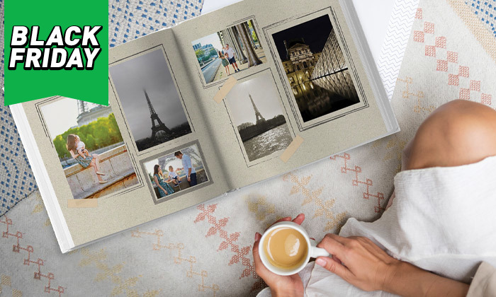 6 אלבום תמונות ענק בכריכה קשה ללא הגבלת עמודים בעסקה באתר ZOOMA