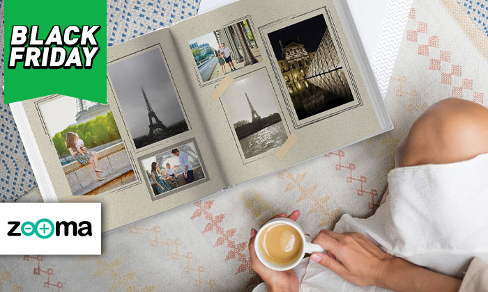 2 אלבום תמונות ענק בכריכה קשה ללא הגבלת עמודים בעסקה באתר ZOOMA
