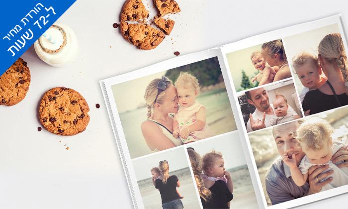 3 דיל לזמן מוגבל: אלבום תמונות קלאסי A4 בכריכה קשה ללא הגבלת עמודים ZOOMA