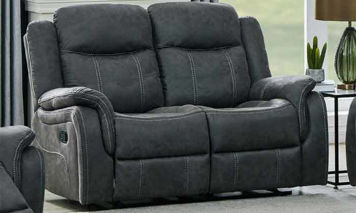 3 ספה דו מושבית עם ריקליינרים HOME DECOR, דגם אוליביה