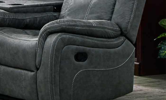 5 ספה דו מושבית עם ריקליינרים HOME DECOR, דגם אוליביה