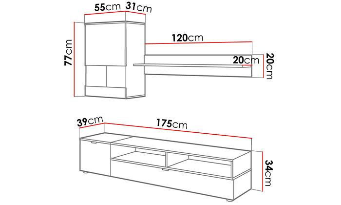 3 סט רהיטים לסלון