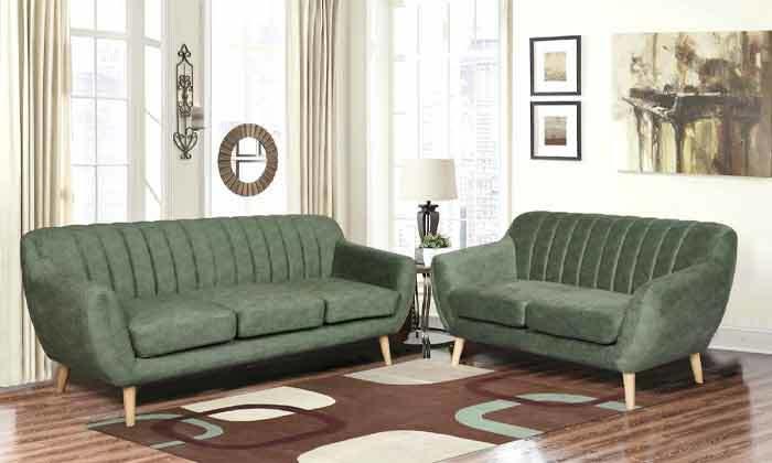 4 ספה דו מושבית HOME DECORדגם פורטו