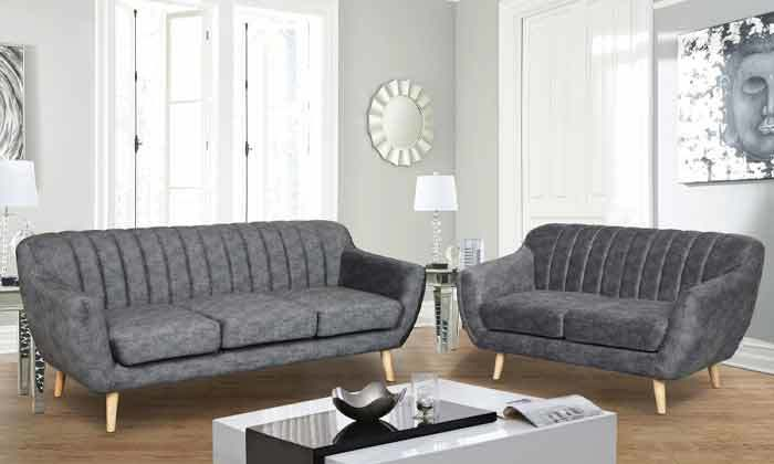 6 ספה דו מושבית HOME DECORדגם פורטו