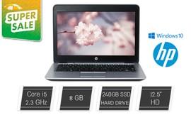 """לפטופ HP מסך """"12.5"""