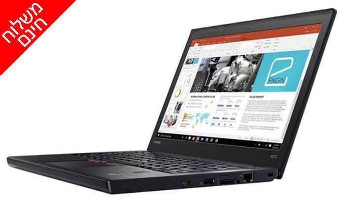6 מחשב נייד לנובו Lenovo עם מסך 12.5 אינץ' - משלוח חינם