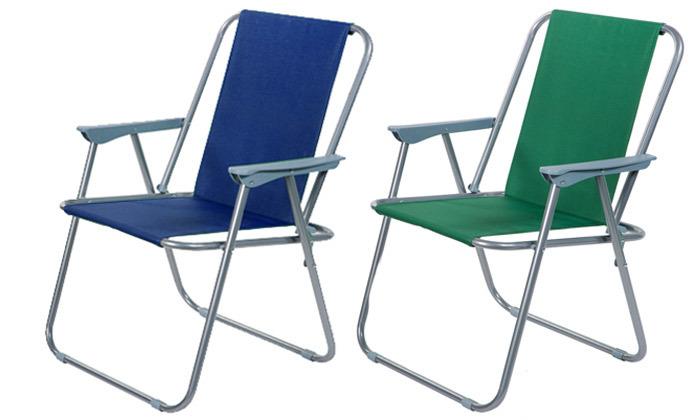 2 כיסא ים מתקפלAustralia Camp, דגם Milano