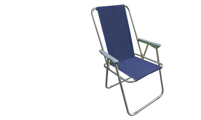 4 כיסא פיקניק מתקפל AUSTRALIA CAMP, דגם Milano High Back