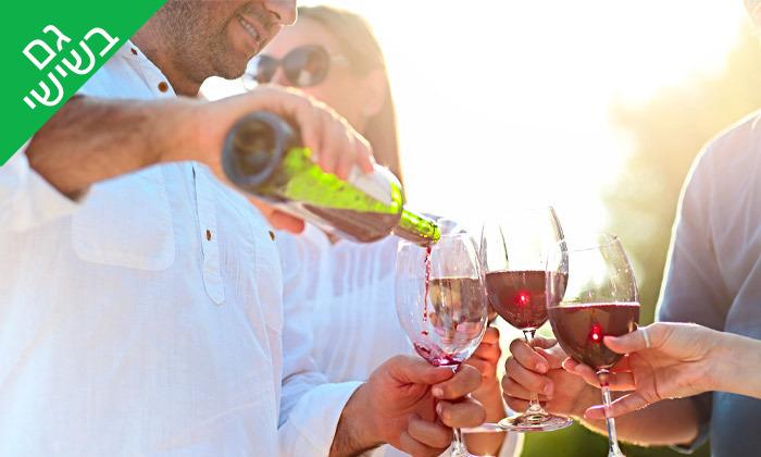 2 סיור זוגי ביקב גוש עציון הכשר כולל טעימות יין, גבינות ובקבוק מתנה