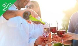 סיור, טעימות יין ובקבוק מתנה