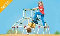 מתקן כיפת טיפוס לילדים