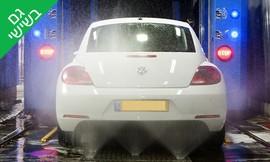 שטיפה חיצונית לרכב פרטי
