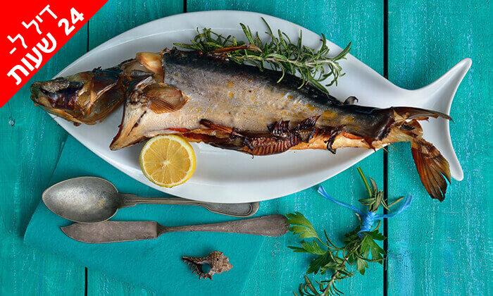 2 דיל ל-24 שעות: ארוחת דגים ליחיד במסעדת פלמידה, רמת גן