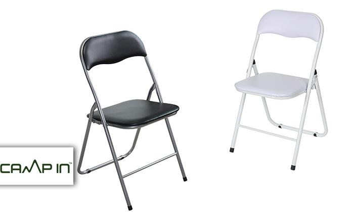 2 שישיית כיסאות מתקפלים