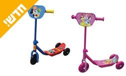קורקינט דיסני 3 גלגלים לילדים