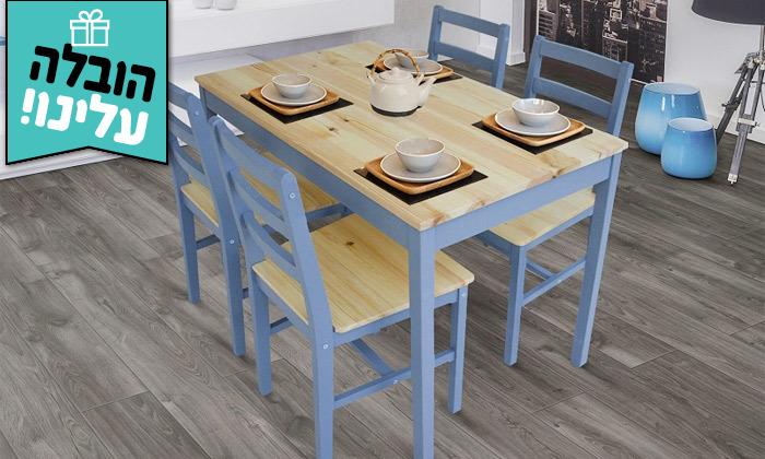 2 פינת אוכל עם 4/6 כיסאות GAROX, דגם LISA - משלוח חינם