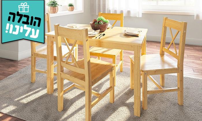 2 פינת אוכל עם 4/6 כיסאות GAROX, דגם FIBI - משלוח חינם