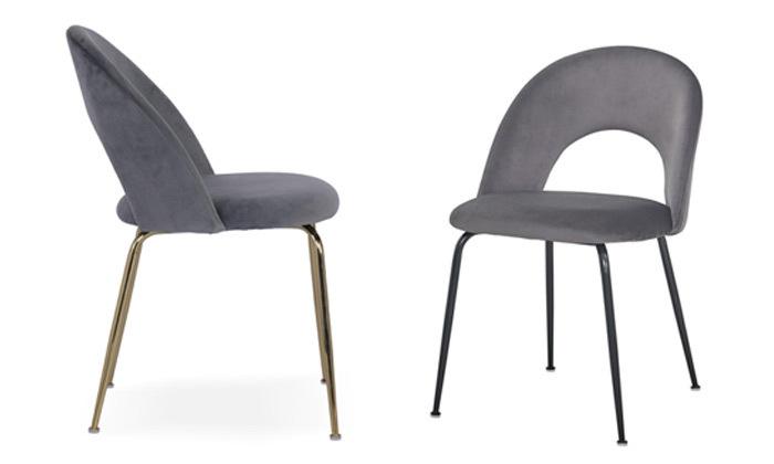 2 כיסא אוכל מקטיפה