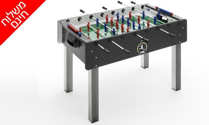 4 שולחן כדורגל FAS, דגם Match - משלוח חינם