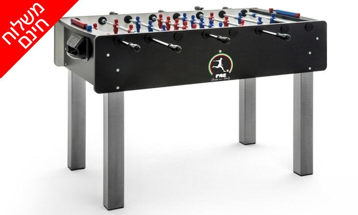 2 שולחן כדורגל FAS, דגם Match - משלוח חינם