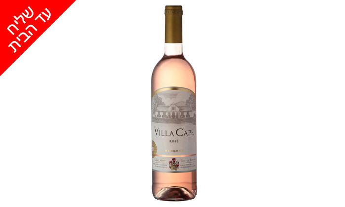 4 מארז 6 או 12 בקבוקי יין Villa Cape במשלוח עד הבית מרשת שר המשקאות