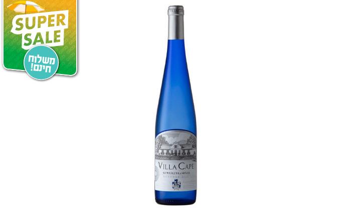 3 מארז 6 או 12 בקבוקי יין Villa Cape במשלוח עד הבית מרשת שר המשקאות