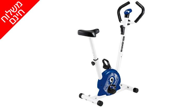 4 אופני כושר מכניים VO2 דגםSigma125 - משלוח חינם
