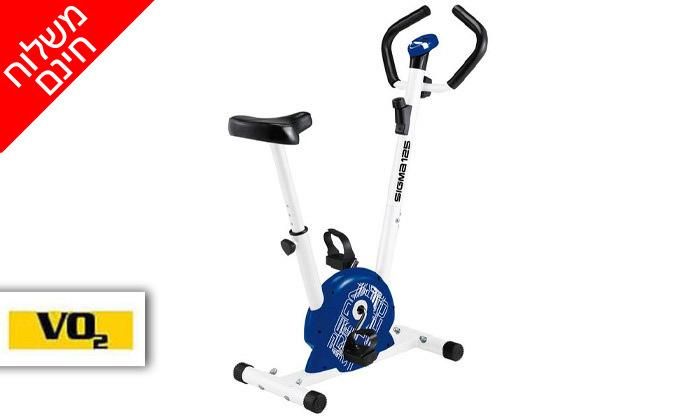 2 אופני כושר מכניים VO2 דגםSigma125 - משלוח חינם