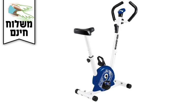 4 אופני כושר מכניים דגםSigma125 - משלוח חינם