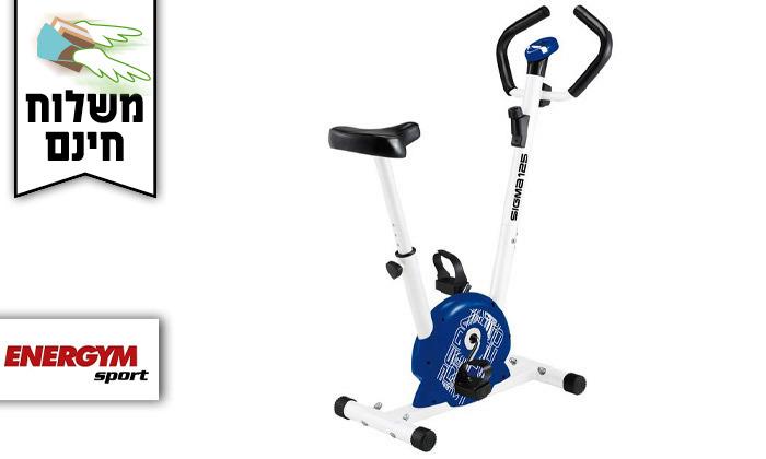 2 אופני כושר מכניים דגםSigma125 - משלוח חינם